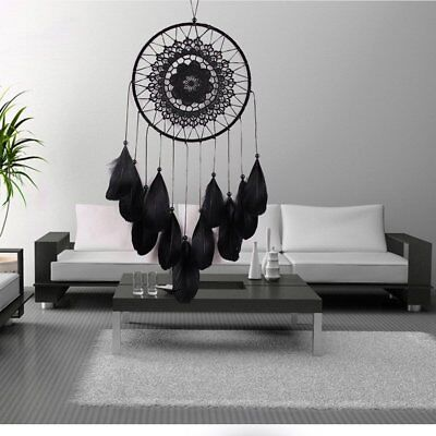Handmade Dream Catcher With Feathers Car Wall Hanging Decoration Ornament New