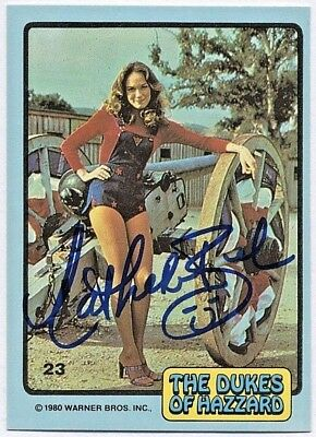 Catherine Bach Dukes Of Hazzard Daisy Autographed Signed Card Photo Proof Orig.