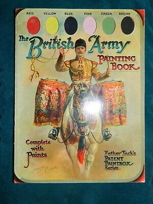 325-The British Army, Painting Book by Harry Payne, exemplaire vierge, rare !