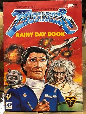 Terrahawks Mystic Pencil Book Gerry Anderson Purnell 1984 # 2