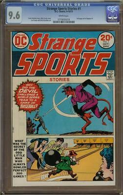 Strange Sports Stories #1 CGC 9.6 Nick Cardy