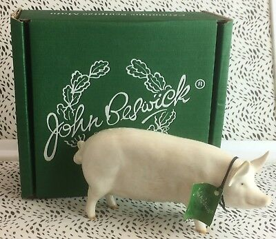 Lovely Beswick ''CH Wall Queen 40'' Pig Earthenware Figurine USC RD8154