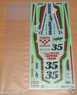 Tamiya 58346 Grasshopper (Re-Release), 9495468/19495468 Decals/Stickers, NIP