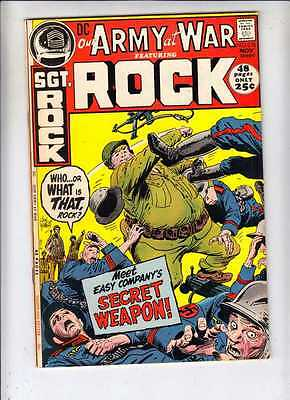 Our Army at War 238 strict VF+ 1971 Kubert Sgt Rock 100s DC War Giant-Size Gem