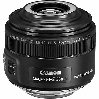 Canon EF-S 35mm f/2.8 Macro IS STM Lens 2220C002