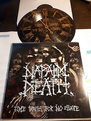 NAPALM DEATH time waits picture disc LP carcass benediction  birdflesh repulsion