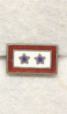 WWII Sweetheart Son-in-Service pin - 2 Stars, Sterling
