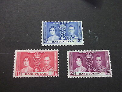 Basutoland  Mint 15 - 16 Coranation