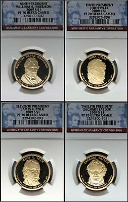 2009 S Presidential Proof Set Ngc Pf70 Ultra Cameo