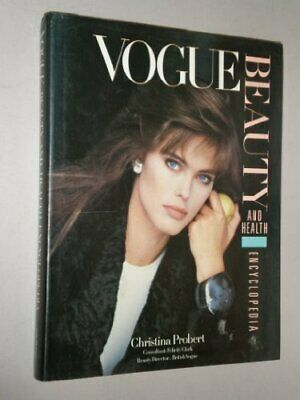 VOGUE BEAUTY AND HEALTH ENCYCLOPEDIA by Probert, Christina Book The Cheap Fast