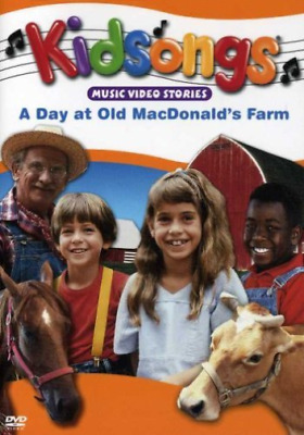 Kidsongs: Day At Old Macdon...-Kidsongs: Day At Old Macdonald`s Farm  Dvd New