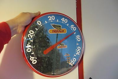Dekalb corn farming seed & feed company plastic working advertising thermometer