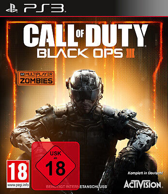 Call of Duty Black Ops 3 III - PS3 Playstation 3 Spiel - NEU OVP