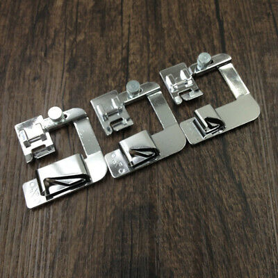 CO_ 4/8 6/8 8/8 inches Rolled Hem Foot Domestic Sewing Machine Hemmer Foot Sanwo