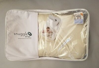 Snuggle Me Organic The Original Co-Sleeping Baby Bed Infant Lounger, Portable