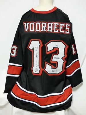 Ari Lehman Friday The 13Th Signed Jason Voorhees Jersey Beckett Authenticated