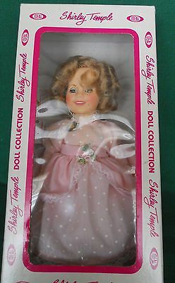 """Shirley Temple Doll """"the Little Colonel"""" By Ideal 8"""" 1982 New In Box With Tag"""
