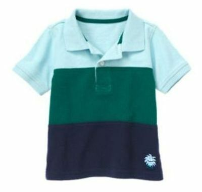 12-18 Months, Gymboree SPACE VOYAGER, Striped Polo Tee, TShirt, NWT