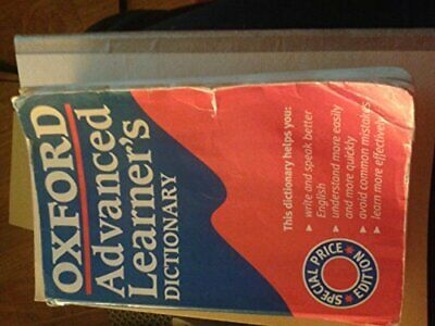 Oxford Advanced Learners' Dictionary by - Paperback Book The Cheap Fast Free