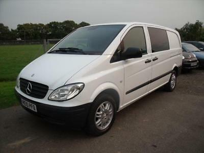 mercedes vito 111 cdi compact swb dualiner silver manual diesel 2010 6 picclick uk. Black Bedroom Furniture Sets. Home Design Ideas