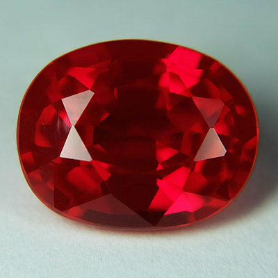 9.50ct.AWESOME BLOOD RED RUBY OVAL LOOSE GEMSTONE