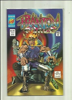 Phantom Force # 0 . Genesis West Comics.