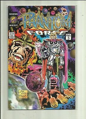 Phantom Force # 3 . Genesis West Comics.