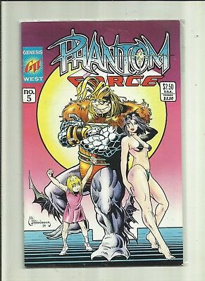 Phantom Force # 5 . Genesis West Comics.