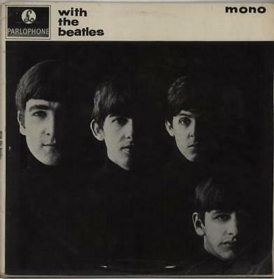 With The Beatles - 2nd - Gotta - VG Beatles vinyl LP album record UK PMC1206