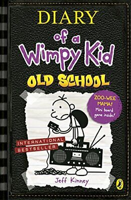Diary of a Wimpy Kid: Old School by Kinney, Jeff 0141370610 The Fast Free