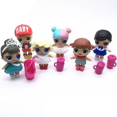 Action Figure Lol Doll Toys Kids Surprise Dress Toy Girls Children Presents 6PCS