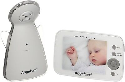 Angelcare AC1320 Portable Live Video Camera & Sound Baby Safety Monitor Alarm