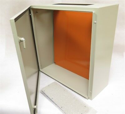 "YuCo YC-24X24X10-IP65 24"" 24"" 10"" Metal IP65 Enclosure With Back Plate"