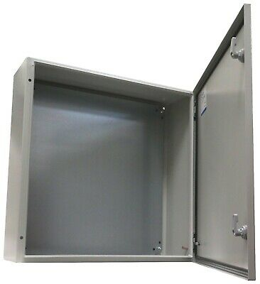 "YuCo YC-24X24X8-IP65 24"" 24"" 8"" Metal IP65 Enclosure With Gland & Back plate"