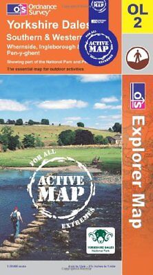 Yorkshire Dales - Southern and Western A... by Ordnance Survey Sheet map, folded