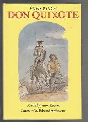 Exploits of Don Quixote by Reeves, James Book The Cheap Fast Free Post