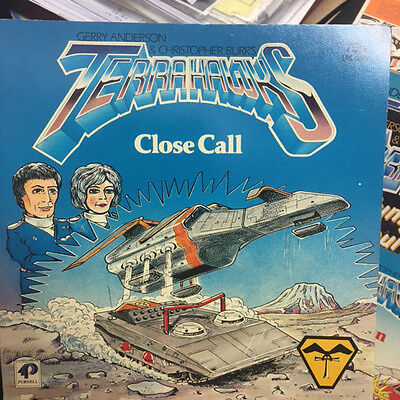 Terrahawks Close Call Story Book Gerry Anderson Purnell 1984