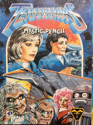 Terrahawks Mystic Pencil Book Gerry Anderson Purnell 1984