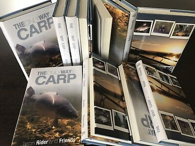 The Only Way Is Carp -1st Edition Hardback Carp Fishing Book 50% price reduction