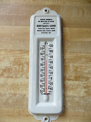 Beautiful Monuments Henry Haertel Service,est.1901 Advertising thermometer works