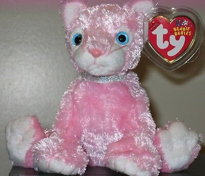 Ty Beanie Baby ~ CARNATION the Cat ~ MINT with MINT TAGS ~ RETIRED