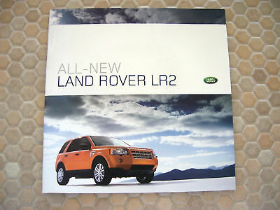 Land Rover Official Premier Lr2 Press Brochure Cd Rom 2007 Usa Edition