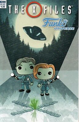 The X Files Funko Universe  (NM)`17 Various  (Cover A)
