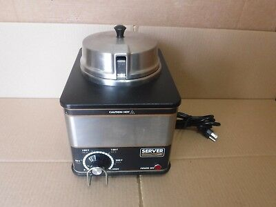 Server-Product Food Cheese Warmer W/lid Model Fs-Ss 86500