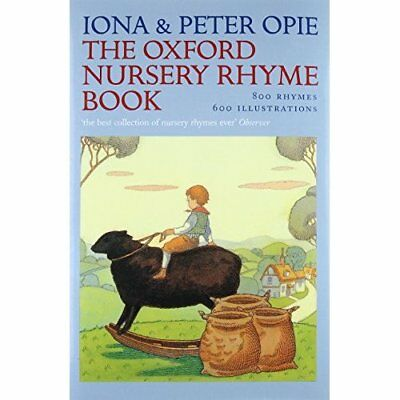 The Oxford Nursery Rhyme Book - Hardcover NEW Opie, Iona 1963-03-26