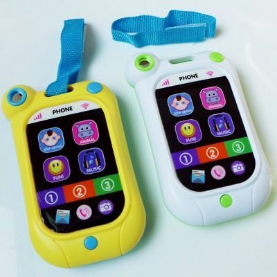 Kids Simulator Phone Touch Screen Music Educational Learning Toy Stop Crying Toy