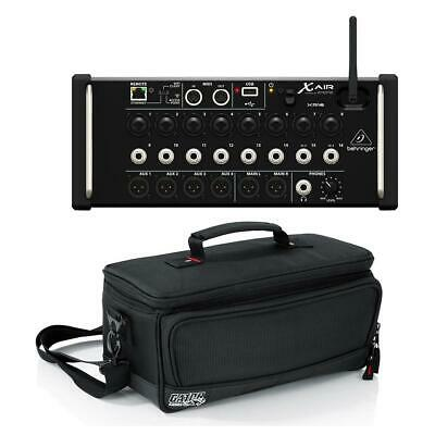 Behringer X Air XR16 Digital Mixer for iPad/Android Tablet W/Gator Padded Bag