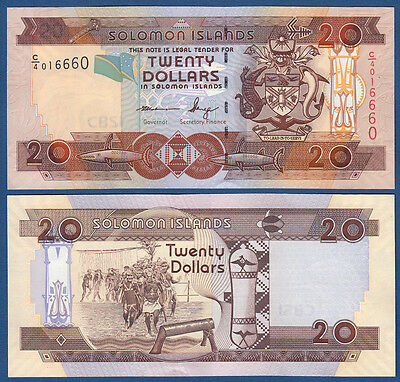 SOLOMON ISLANDS 20 Dollars (2006) UNC  P.28