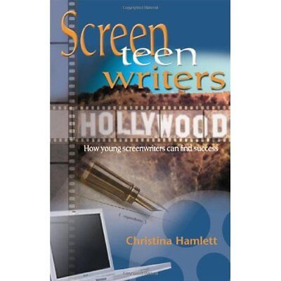 ScreenTEENnwriters: How Young Screenwriters Can Find Su - Paperback NEW Christin