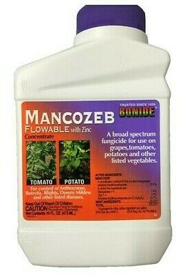 Mancozeb with Zinc Fungicide - 1 Pint by Bonide 862